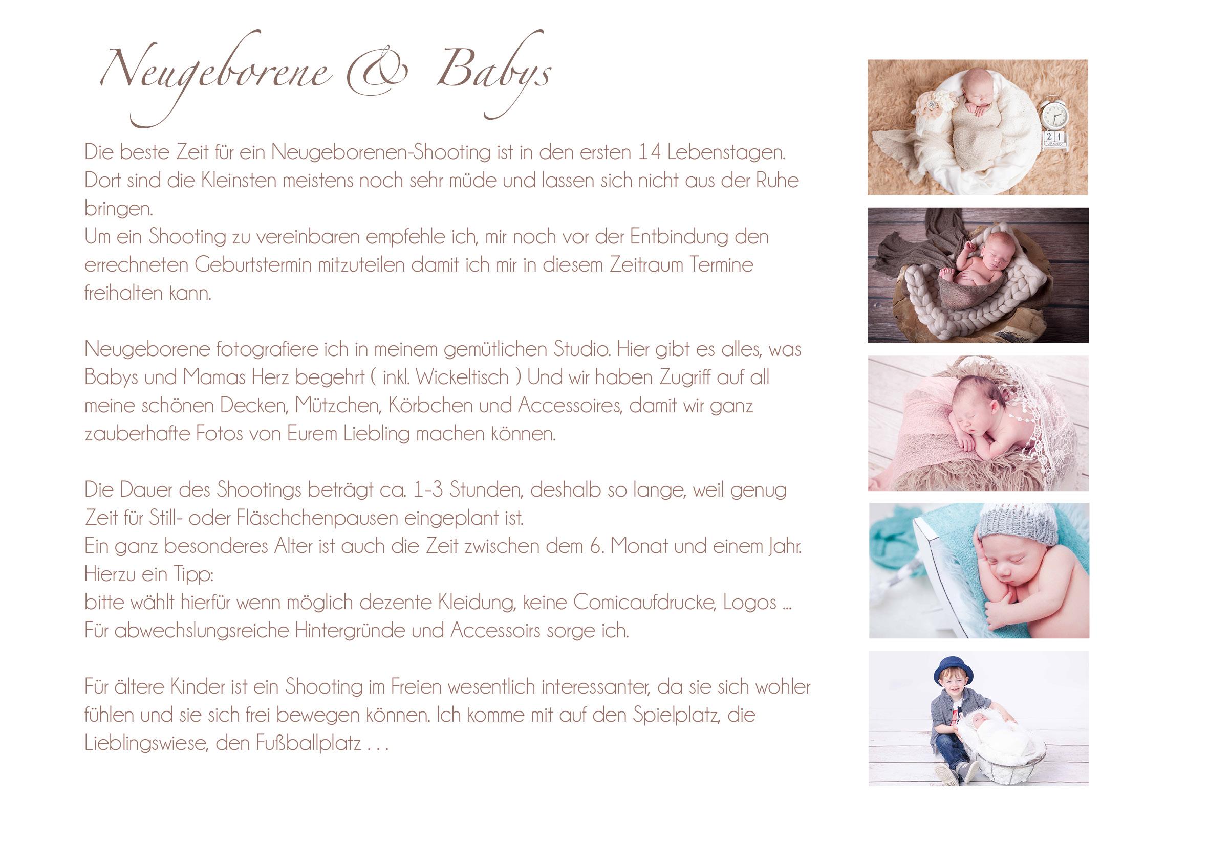 Info Belly und Babies Stand Sp 2016
